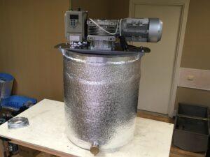 Кремовалка 100 л с роспуском